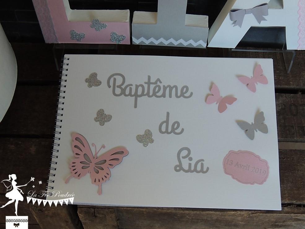 ade81801c9e ... Papillon Rose Et Gris ~ Idées mariage rose gris personnalisé planche d  inspiration ...