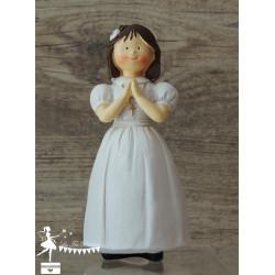 Communiante figurine 15cm