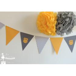 Guirlande de fanions décorés
