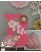 Fleurs 3D - La Fée Poudrée
