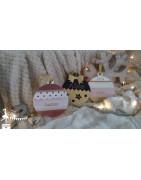 Boule de Noël bois Mon Premier Noël
